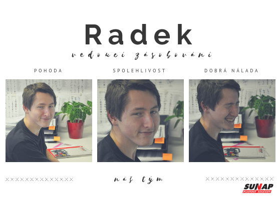 SUNAP_vedoucí zásobování_Radek